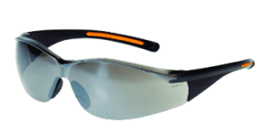 INOX 1715RTN/SM F-III Silver Mirror Lens With Black/Orange Frame