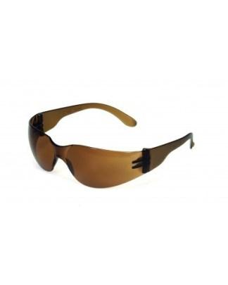 INOX F-I 1715M Mocha Lens W/ Mocha Frame Safety Glasses