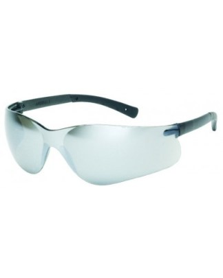 INOX F-II 1715RT/SM SILVER MIRROR LENS WITH BLACK TEMPLE TIPS