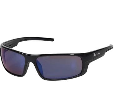 INOX 1724BM Enforcer Blue Mirror Lens With Black Frame