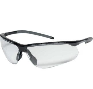 INOX 1735C Gravity Clear Lens Black Frame