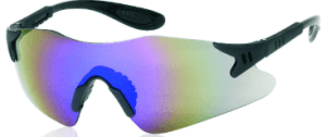 INOX 1738BM Dasher Blue Mirror Lens Black Frame