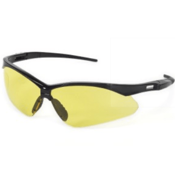 INOX 1767A Roadster Amber Lens with Black Frame