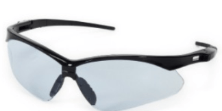 INOX 1767LB Roadster Light Blue Lens with Black Frame