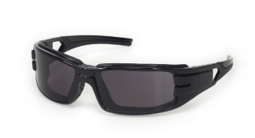 INOX 1772G/AF Trooper Gray Lens (anti-fog) with Black Frame