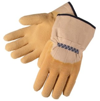 Liberty Gloves 2300 Standard Rubber with Canvas Cuff glove, Dozen