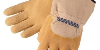 Liberty Gloves 2300Q Economy Rubber with Canvas Cuff Glove, Dozen