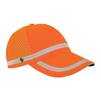 ML Kishigo 2855 Reflective Orange Baseball Cap