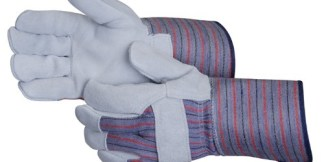 Liberty Gloves 3254A Premium Select Leather Palm Glove With 4 1/2 inch Rubberized Cuff, Dozen
