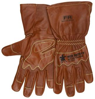 MCR MU3624G Mustang Utility Premium Goatskin Double Palm Driver Gloves