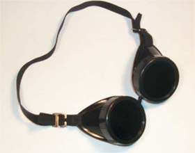 """Welding Goggles  2"""" x 4"""" soft lift front"""