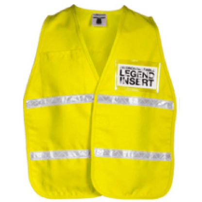 ML Kishigo 3710i Yellow Incident Command Vest