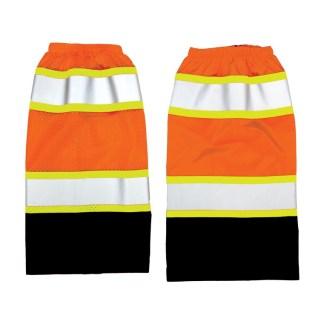 ML Kishigo 3933 Premium Black Series Class E Orange Mesh Gaiters
