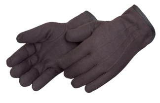 4308Q Lined Brown Jersey Glove, Dozen