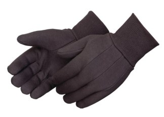 4513 Brown Jersey 13oz Glove, Dozen