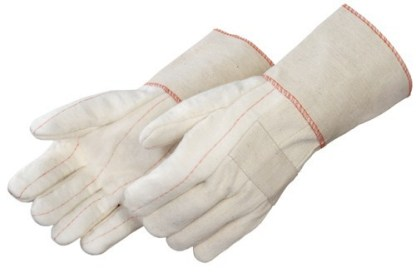 """4564ML Heavy Weight Hot Mill With Regular Grade Burlap Lining and 4 1/2"""" Guantlet Cuff, Dozen"""