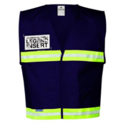 ML Kishigo 4703 Dark Blue Incident Command Vest