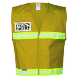 ML Kishigo 4706 Tan Incident Command Vest