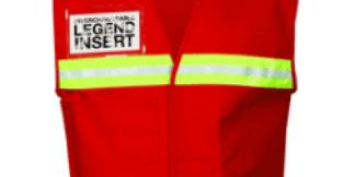 ML Kishigo 4708 Red Incident Command Vest