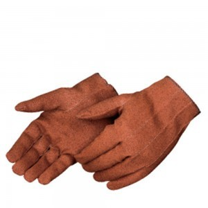 Liberty Gloves 5320 Ladies' Rust Vinyl Impregnated Gloves, Dozen
