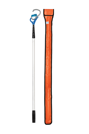 FALLTECH 68030T RESCUE POLE, 4ft TO 17ft WITH ALUM CARABINER AND BAG