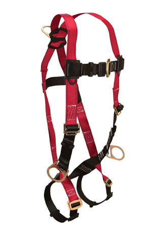 FallTech 7009 Tradesman 3D Ring Full Body Harness