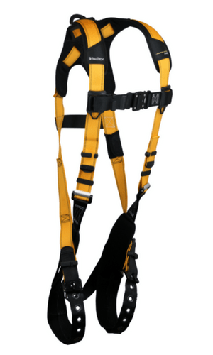 FallTech 7021B Journeyman Flex Aluminum Full Body Harness