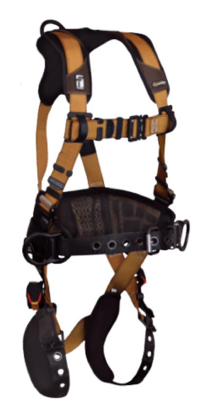 FALLTECH 7081BR Construction Belted Harness