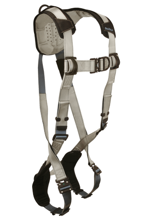 FlowTech 7087FD Climbing 2-D Full Body Harness Non-belted