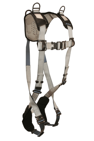 FlowTech 7097 Standard 3-D Full Body Harness/ Non-belted/ Quick Connect