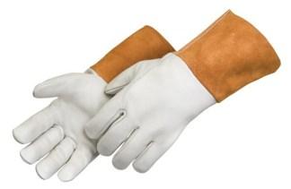 Liberty Gloves 7124 Grain Cowhide MIG Welders Glove, Dozen