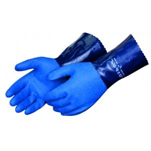 Liberty Gloves Atlas 720 Premium Navy Blue Nitrile Coated, Dozen
