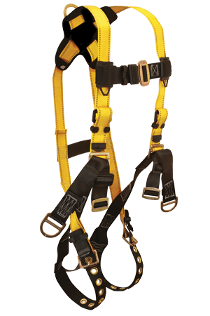 FallTech 8006 Roughneck 3-D Full Body Harness Derrick Non-belted