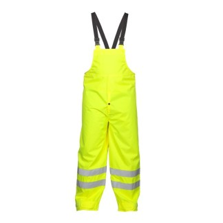 ML Kishigo 9665P Class E Lime Storm Stopper Rainwear Bib