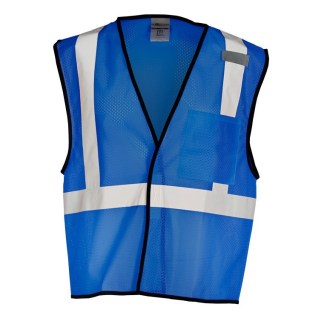 ML Kishigo B121 Enhanced Visibility Royal Blue Mesh Vest
