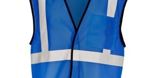 ML Kishigo B121 Enhanced Visibility Royal Blue Mesh Vest