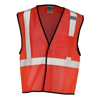 ML Kishigo B122 Enhanced Visibility Red Mesh Vest