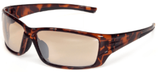 INOX BR1720BRM/AF Eclipse Brown Mirror Lens with Brown Frame