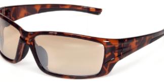 INOX BR1720BRM/AF Eclipse Brown Mirror Lens with Brown Frame