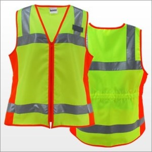 3A C1108 Ladies Class 2 Fitted Vest
