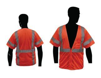 C16004F Economy Orange ANSI Class 3 Vest