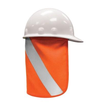 ML Kishigo F2803 Orange FR Hard Hat Nape Protector