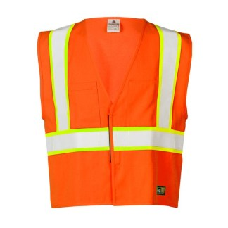ML Kishigo F307 FR Pro Series Orange Vest