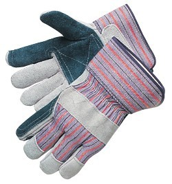 Liberty Gloves 3551SP Regular Leather Double Palm Gloves, Dozen
