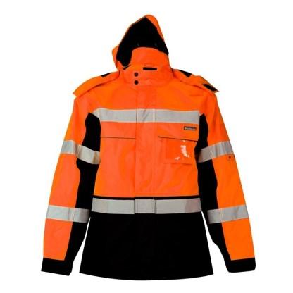 ML Kishigo JS141 Premium Black Series Orange Parka