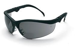 Klondike Gray Lens Magnifier Safety Glasses