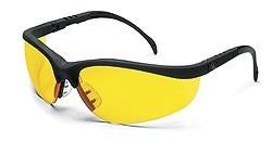 MCR KD114 Klondike Amber Lens Safety Glasses