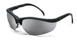 MCR KD117 Klondike Silver Mirror Lens Safety Glasses