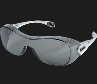 OG112AF Law OTG ( Over The Glasses) Gray Lens Anti-Fog Glasses