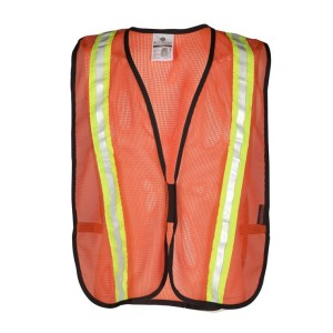 ML Kishigo P-V21 Orange Mesh Vest